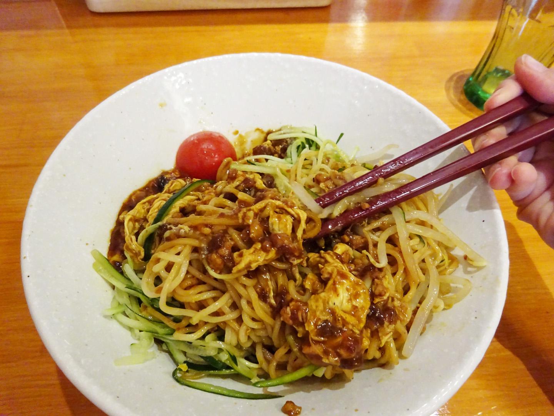 桃仙人ジャージャン麺2