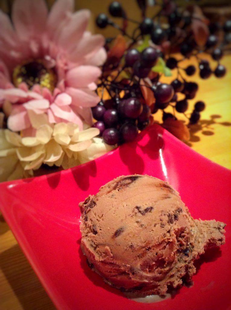 桃仙人ガトーショコラアイス