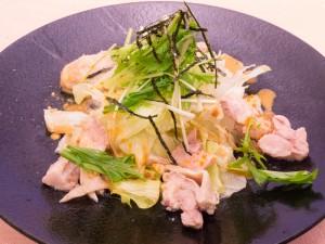 鶏の胡麻だれサラダ629円